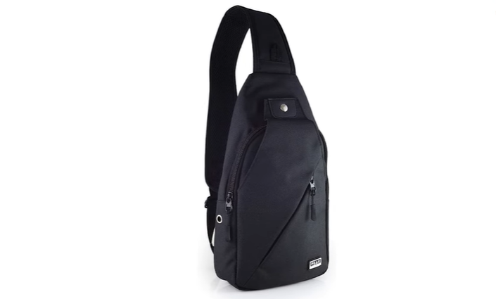 The picture of Peak Gear Sling Compact Crossbody Backpack