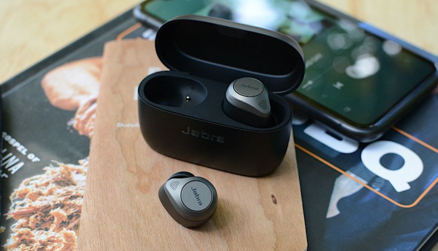 The picture of Jabra Elite 85t    Best Sports Earbuds 2021